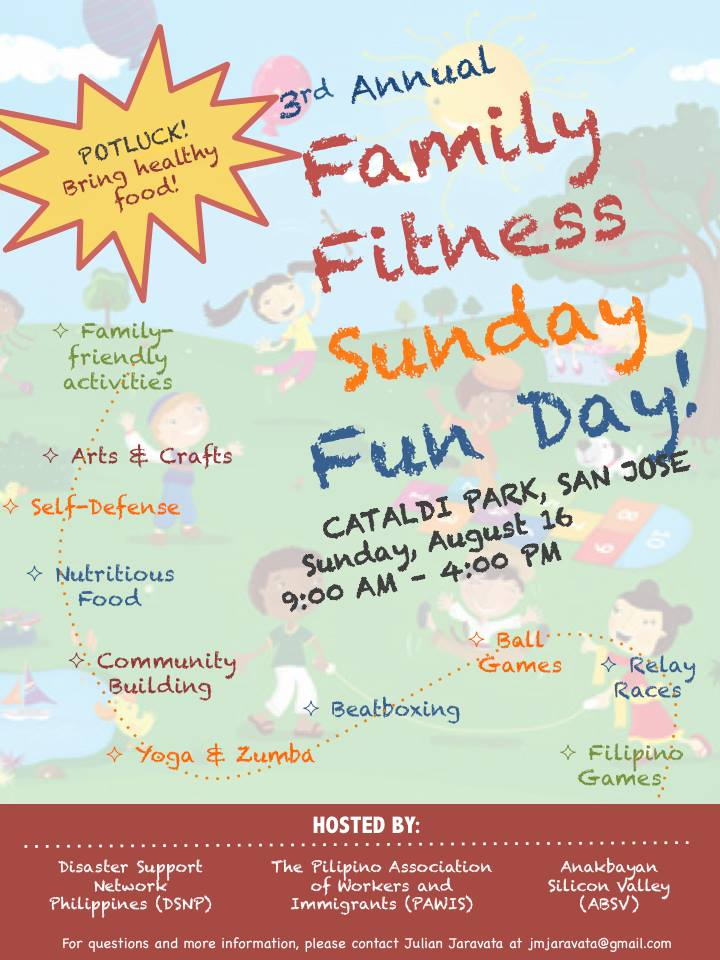 pawis family fitness day
